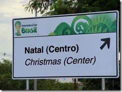 Brazil world cup Natal Christmas