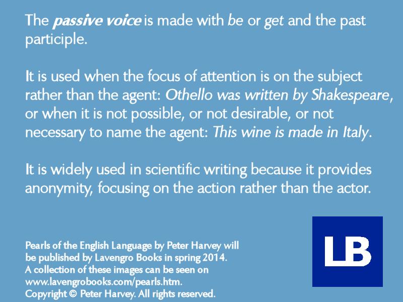 170 passive voice